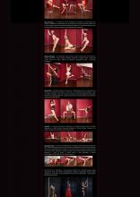 "Сайт визитка студии танцев ""Шоколад"""